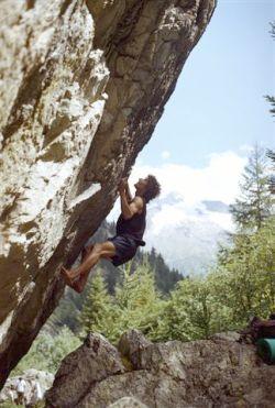 Na przełęczy, naznaczona magnezją skała i soczyste