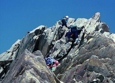 Wspinaczka na wierzchołek Nordenta (4609 m)