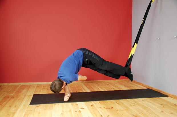 Ćwiczenie przy użyciu systemu TRX