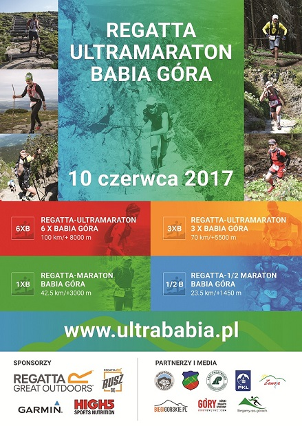 Program - Ultramaraton Babia Góra - Regatta 2017