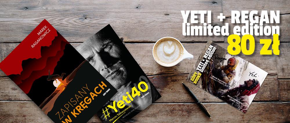 #Yeti40 + Zapisany w kręgach + kartka z autografami