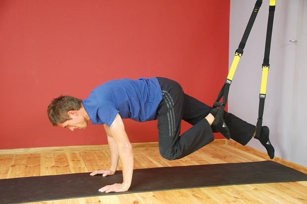 ćwiczenie z użyciem systemu TRX