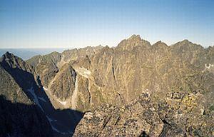 Panorama z Litworowego Szczytu w stronę Wysokiej