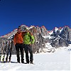 Alex i Garry w obozie. W tle Tooth Traverse. Fot. Bluemel/Fiegl