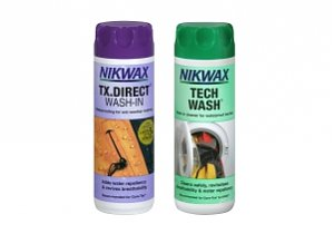 Zestaw Tech Wash i TX. Direct Wash-In / Nikwax
