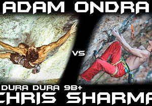 Adam Ondra vs Chris Sharma na La Dura Dura 9b+