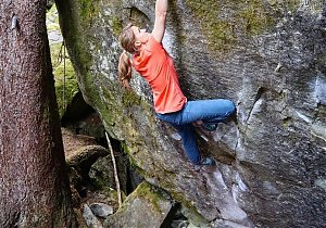 Anna Stöhr na New Base Line 8B+