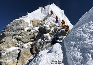 Rekordowy sezon na Mount Everest