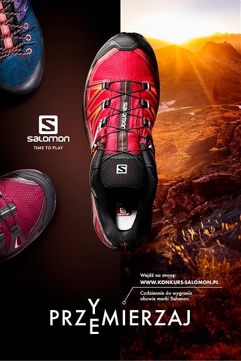 94b65241214bb Przymierzaj/przemierzaj i wygrywaj z marką Salomon!