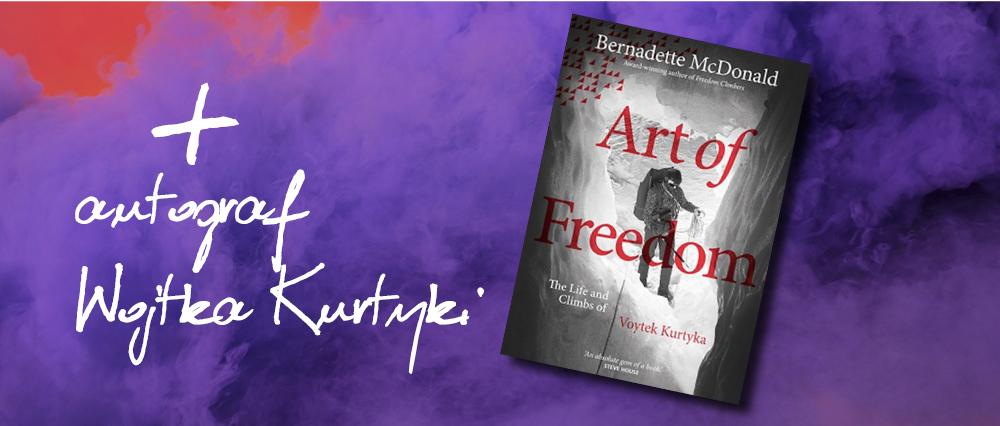 Art of Freedom - autograf Wojtka Kurtyki