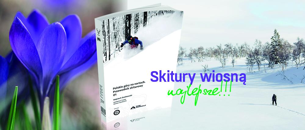Przewodnik skiturowy - wiosenna promocja